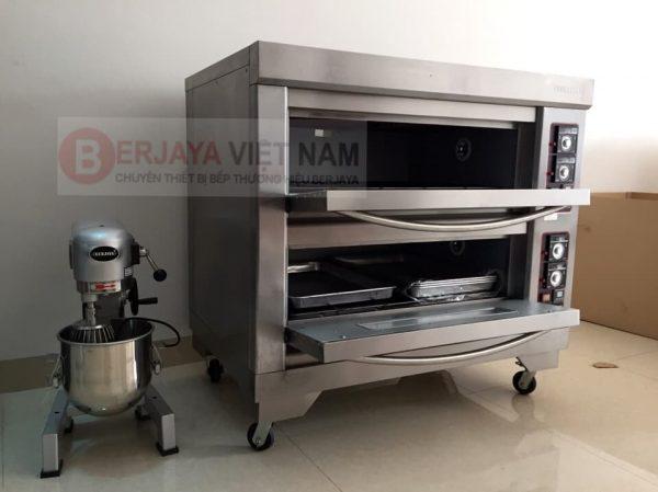Lò nướng bánh Berjaya và Máy trộn bột Berjaya