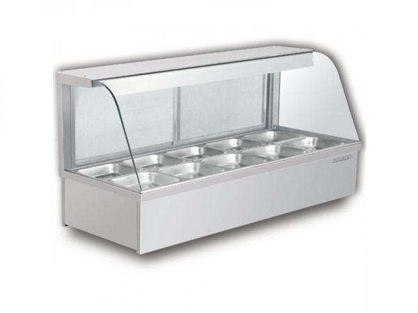 Tủ giữ nóng thực phẩm 10 khay berjaya hfd25-100