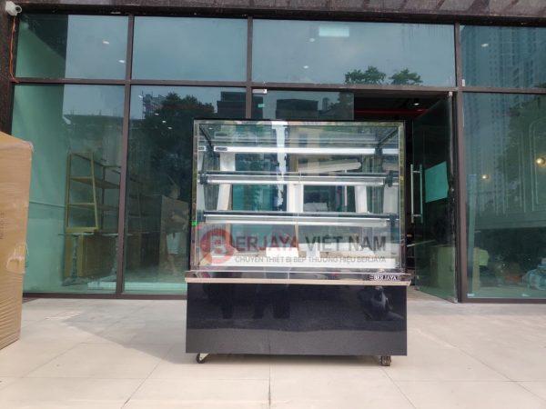 Tủ mát trưng bày bánh kem Berjaya RCS12SB13-2FB