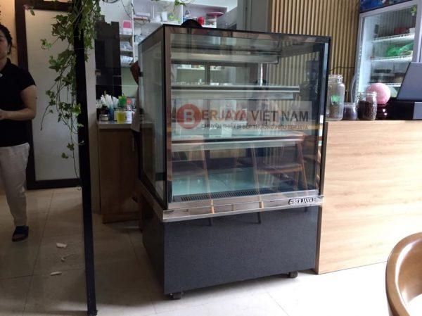 Tủ mát trưng bày bánh kem Berjaya RSC09SB13-2FB