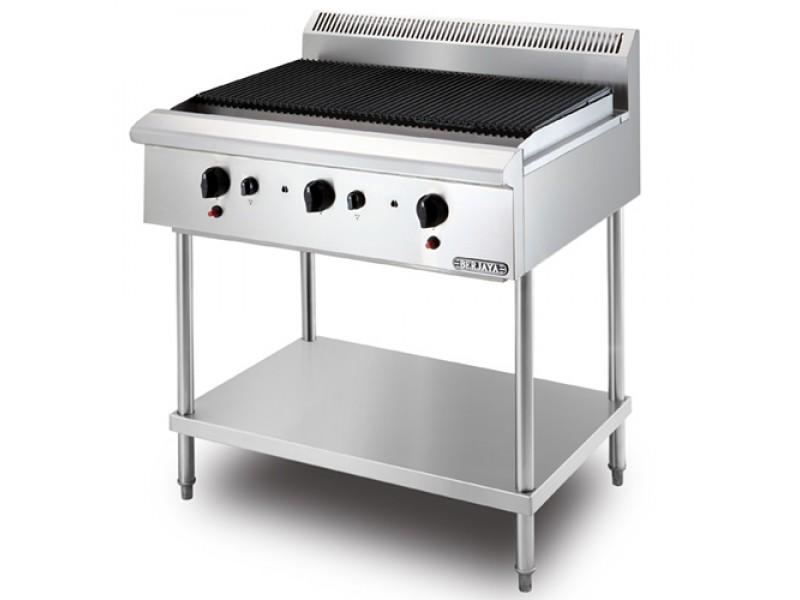bếp nướng dùng gas có chân berjaya cb3bfs-17