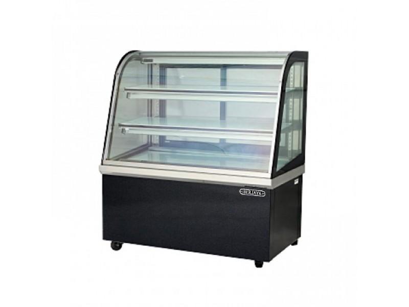 Tủ bánh kem kính cong Berjaya CCS24SB13-2FB