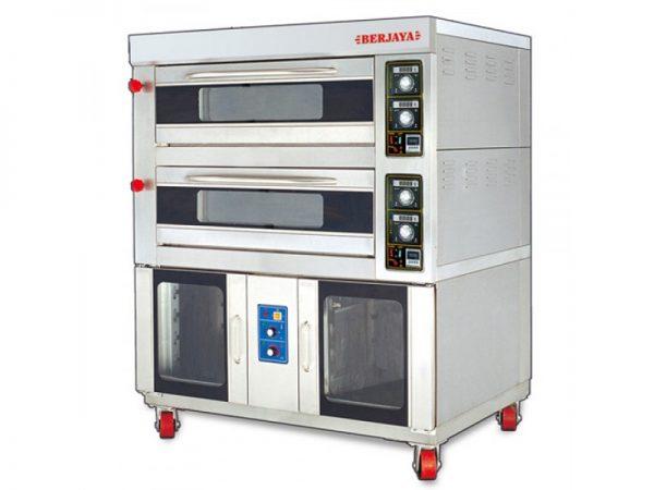 lò nướng bánh kèm ủ bột berjaya BJY-2B+16PF-E