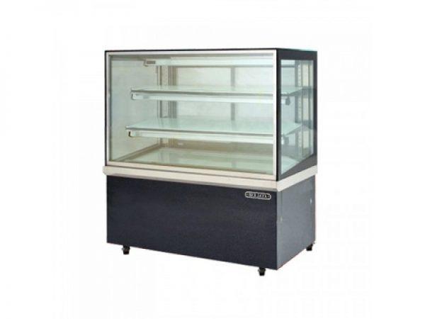 Tủ bánh kem kính vuông Berjaya RCS24SB13-2FB
