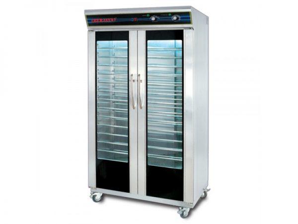tủ ủ bột 32 khay berjaya 2dpf-32