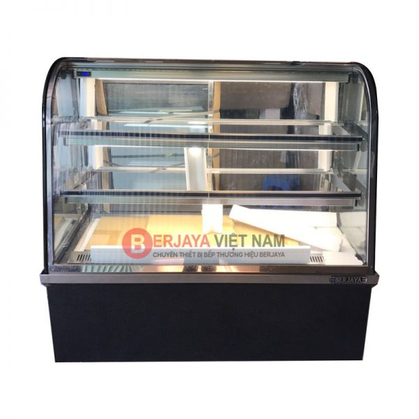 Tủ bánh kem kính cong Berjaya CCS12SB13-2FB