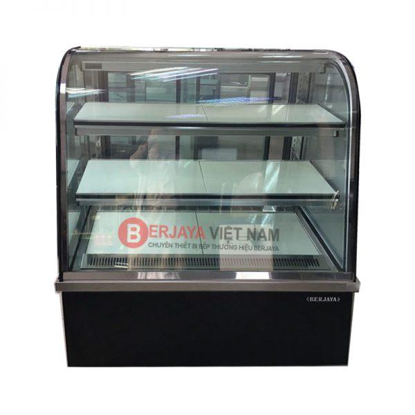 Tủ bánh kem Berjaya kính cong CCS09SB13-2FB